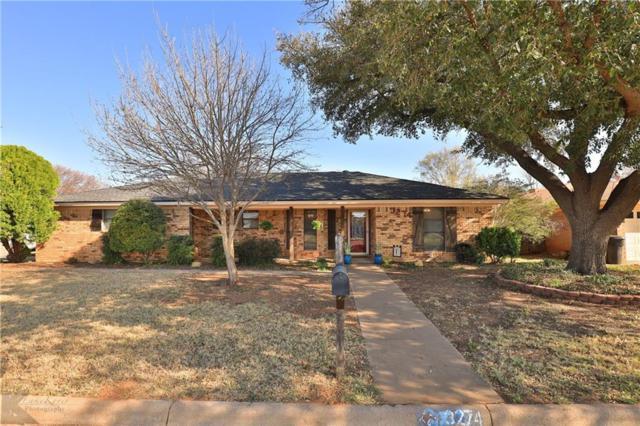 3274 Falcon Drive, Abilene, TX 79606 (MLS #14046812) :: The Heyl Group at Keller Williams