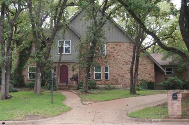3508 Sheffield Court, Arlington, TX 76013 (MLS #14046831) :: The Heyl Group at Keller Williams