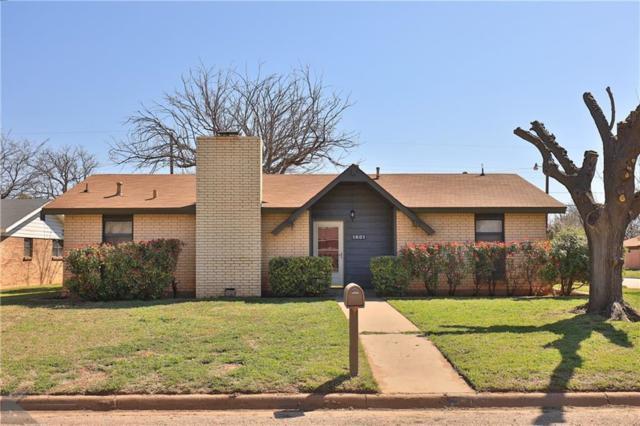 1801 Rosewood Drive, Abilene, TX 79603 (MLS #14046844) :: The Heyl Group at Keller Williams