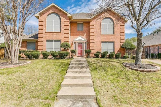 2314 Grimsley Terrace, Mansfield, TX 76063 (MLS #14047200) :: The Sarah Padgett Team