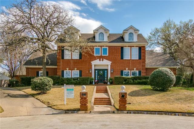 4004 Fair Hill Court, Colleyville, TX 76034 (MLS #14047409) :: Baldree Home Team