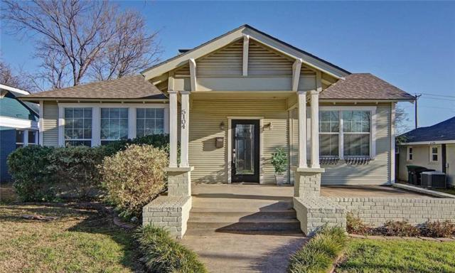 5104 Calmont Avenue, Fort Worth, TX 76107 (MLS #14047622) :: Real Estate By Design