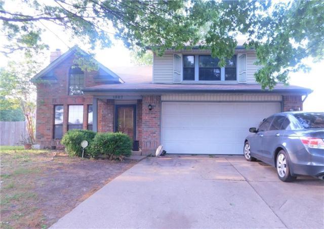 1507 Briarpath Lane, Arlington, TX 76018 (MLS #14047712) :: The Sarah Padgett Team