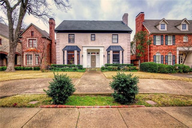 3205 Stanford Avenue, University Park, TX 75225 (MLS #14047836) :: Robbins Real Estate Group