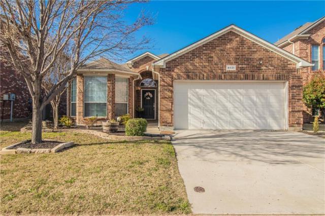 4021 Ellenboro Lane, Fort Worth, TX 76244 (MLS #14047879) :: Real Estate By Design