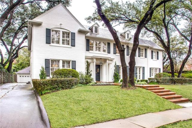 4224 Beverly Drive, Highland Park, TX 75205 (MLS #14047998) :: HergGroup Dallas-Fort Worth