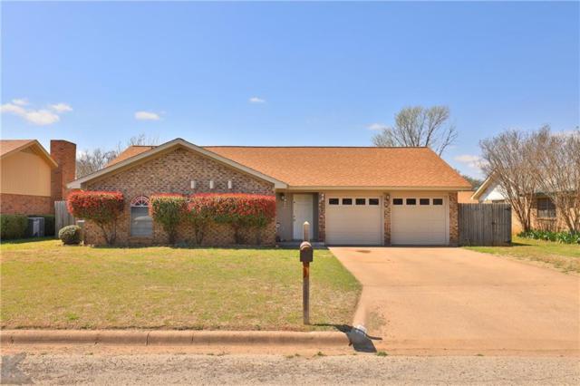 2310 Cicily Lane, Abilene, TX 79606 (MLS #14048059) :: RE/MAX Town & Country