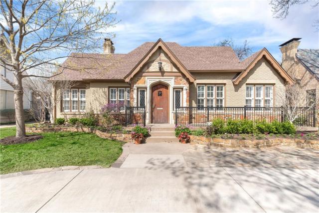 4544 S Versailles, Highland Park, TX 75205 (MLS #14048174) :: Real Estate By Design