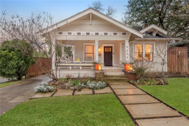 5424 Goodwin Avenue, Dallas, TX 75206 (MLS #14048283) :: RE/MAX Town & Country