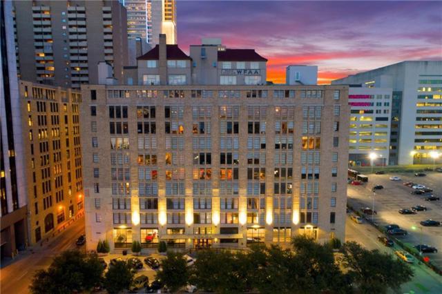 1122 Jackson Street #502, Dallas, TX 75202 (MLS #14049194) :: Real Estate By Design