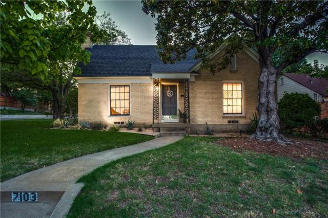 7103 Vivian Avenue, Dallas, TX 75223 (MLS #14049322) :: Century 21 Judge Fite Company