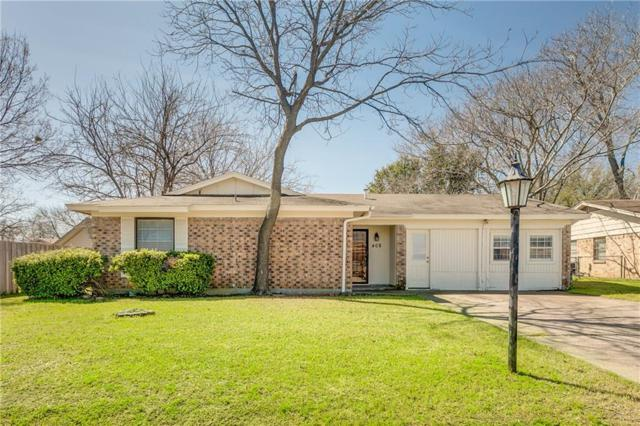 408 Harris Drive, Crowley, TX 76036 (MLS #14049372) :: The Mitchell Group