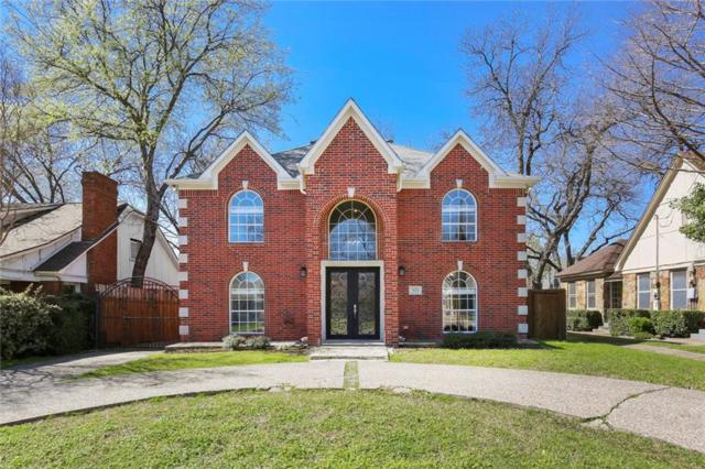 5121 Stoneleigh Avenue, Dallas, TX 75235 (MLS #14050108) :: RE/MAX Town & Country