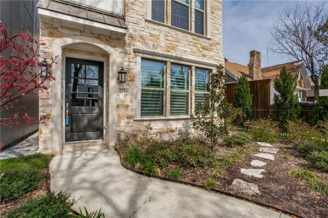 2790 Edmonds Drive, Dallas, TX 75219 (MLS #14050525) :: The Hornburg Real Estate Group