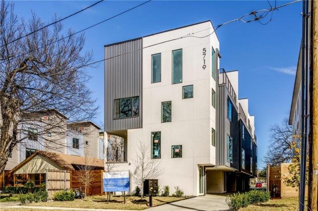 5719 Lindell Avenue D, Dallas, TX 75206 (MLS #14050771) :: Robbins Real Estate Group
