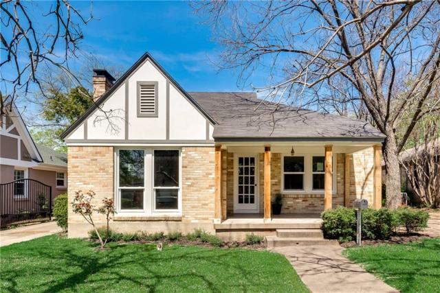 5321 Mccommas Boulevard, Dallas, TX 75206 (MLS #14050898) :: RE/MAX Landmark