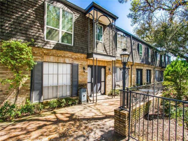 5035 Cedar Springs Road #205, Dallas, TX 75235 (MLS #14051966) :: Van Poole Properties Group
