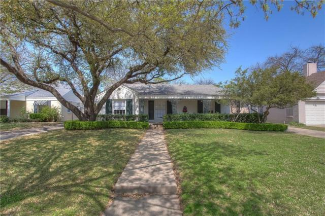6136 Locke Avenue, Fort Worth, TX 76116 (MLS #14052225) :: RE/MAX Pinnacle Group REALTORS