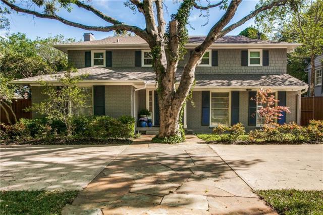 4609 Mockingbird Lane, Highland Park, TX 75209 (MLS #14052486) :: The Chad Smith Team