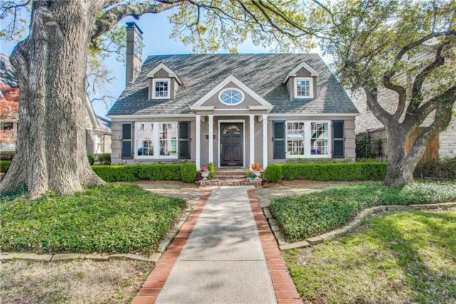 3825 Purdue Avenue, University Park, TX 75225 (MLS #14052975) :: The Heyl Group at Keller Williams