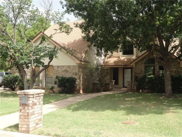 2742 Stonecrest Drive, Abilene, TX 79606 (MLS #14053294) :: RE/MAX Town & Country