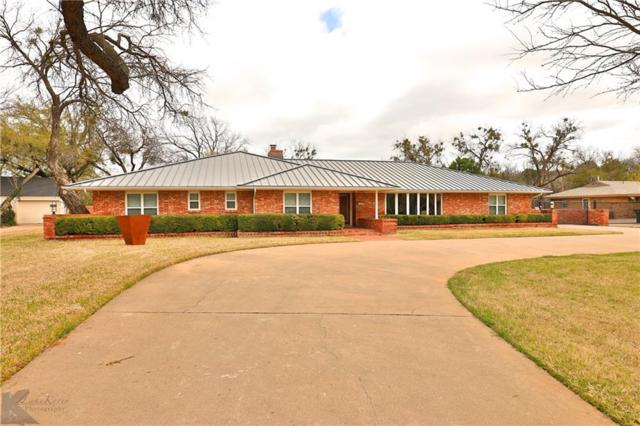 1417 Tanglewood Road, Abilene, TX 79605 (MLS #14054679) :: RE/MAX Town & Country