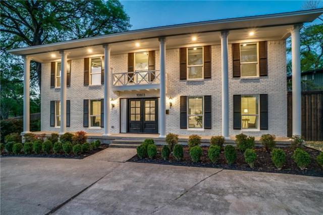 10803 Fernald Avenue, Dallas, TX 75218 (MLS #14054876) :: RE/MAX Town & Country