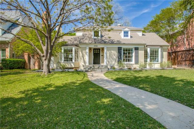 3700 Bryn Mawr Drive, University Park, TX 75225 (MLS #14055551) :: RE/MAX Town & Country