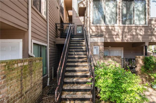 9817 Walnut Street I-212, Dallas, TX 75243 (MLS #14055912) :: The Mitchell Group