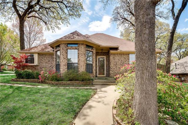 1201 Knoll Crest Court, Grapevine, TX 76051 (MLS #14056054) :: The Heyl Group at Keller Williams