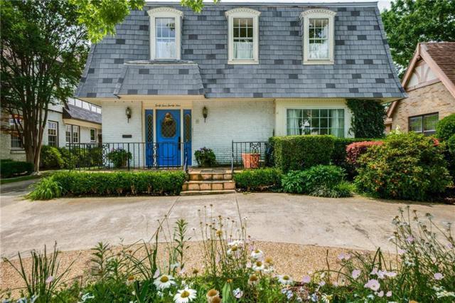 4429 Mockingbird Lane, Highland Park, TX 75205 (MLS #14056131) :: The Hornburg Real Estate Group