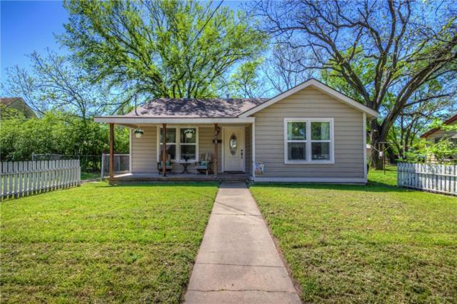 213 W 1st Street, Weatherford, TX 76086 (MLS #14056146) :: RE/MAX Town & Country