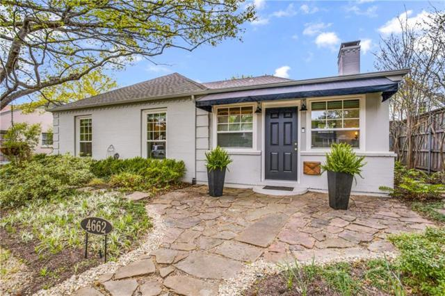 4662 Southern Avenue, Highland Park, TX 75209 (MLS #14056239) :: The Chad Smith Team