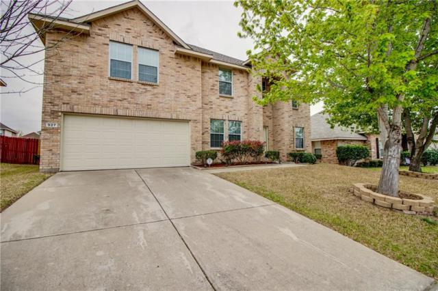 927 Oakcrest Drive, Wylie, TX 75098 (MLS #14056664) :: RE/MAX Town & Country