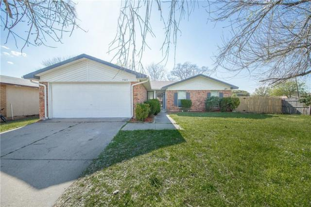 7325 Catbrier Court, Fort Worth, TX 76137 (MLS #14057134) :: Real Estate By Design