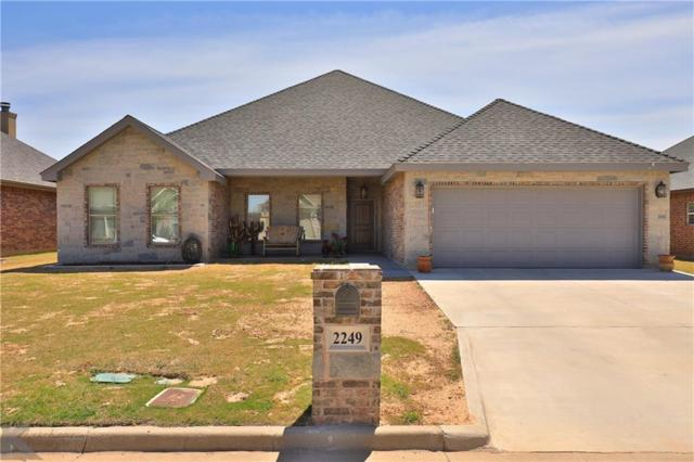 2249 Bunker Hill Drive, Abilene, TX 79601 (MLS #14057329) :: RE/MAX Town & Country