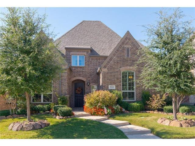 2353 Palazzo Lane, Allen, TX 75013 (MLS #14057997) :: RE/MAX Town & Country