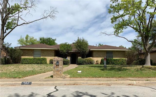 943 Green Ridge Drive, Duncanville, TX 75137 (MLS #14058262) :: Team Hodnett