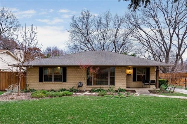 815 Westwood Drive, Richardson, TX 75080 (MLS #14058576) :: RE/MAX Town & Country