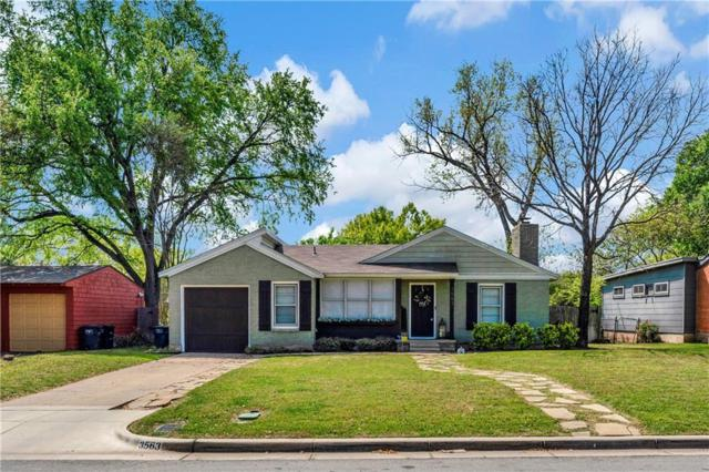 3563 Dryden Road, Fort Worth, TX 76109 (MLS #14058840) :: RE/MAX Town & Country