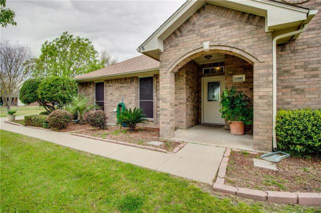 1081 Pierce Road, Red Oak, TX 75154 (MLS #14059166) :: The Daniel Team