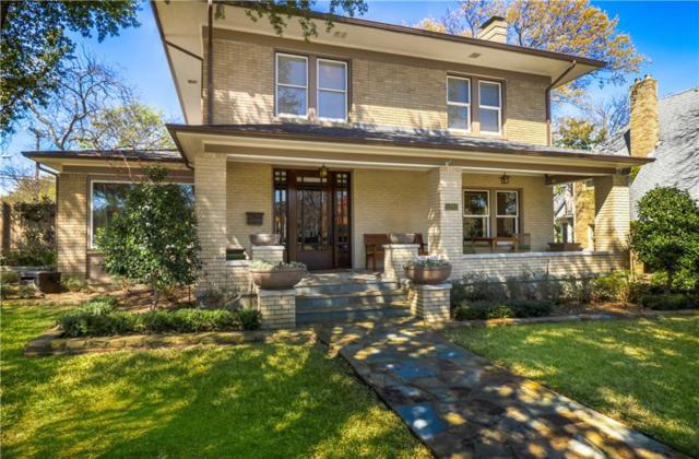1203 N Windomere Avenue, Dallas, TX 75208 (MLS #14059182) :: Real Estate By Design