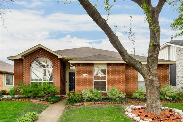 2114 Carnation Court, Garland, TX 75040 (MLS #14060169) :: The Hornburg Real Estate Group