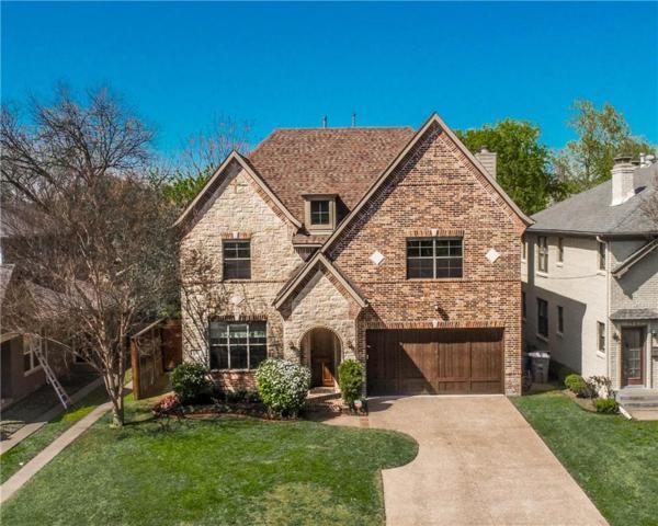 5821 Vickery Boulevard, Dallas, TX 75206 (MLS #14060505) :: Robbins Real Estate Group