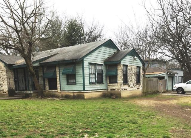 1305 S Beckley Avenue, Dallas, TX 75224 (MLS #14060844) :: Team Hodnett