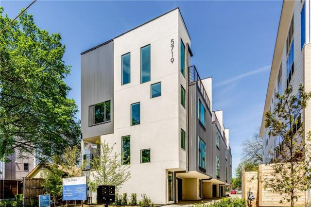 5719 Lindell Avenue B, Dallas, TX 75206 (MLS #14060979) :: The Hornburg Real Estate Group