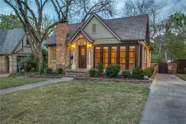 6922 Patricia Avenue, Dallas, TX 75223 (MLS #14061693) :: RE/MAX Town & Country