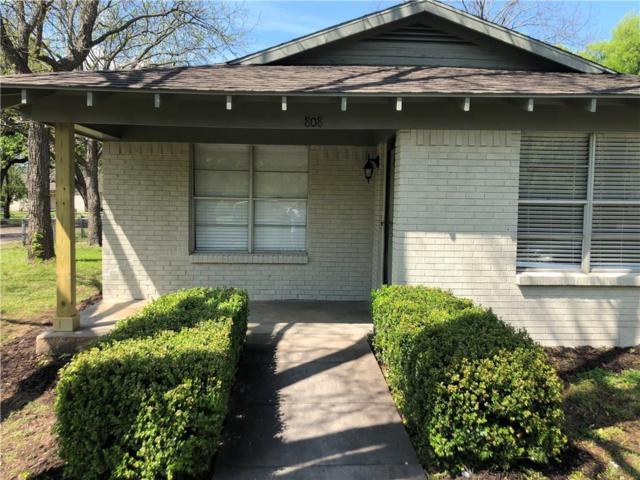 808 S Robinson Street, Cleburne, TX 76031 (MLS #14061716) :: The Daniel Team