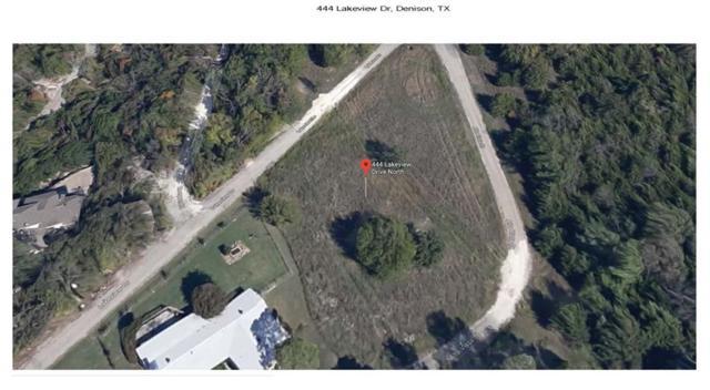 444 Lakeview Drive, Denison, TX 75020 (MLS #14061776) :: Robbins Real Estate Group