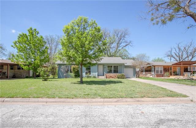 1134 Westridge Drive, Abilene, TX 79605 (MLS #14061972) :: The Chad Smith Team
